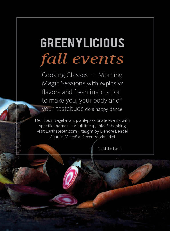 Greenylicious Cooking Events @ www.Earthsprout.com