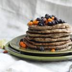 Rainy day Pancakes w Sunshine Syrup