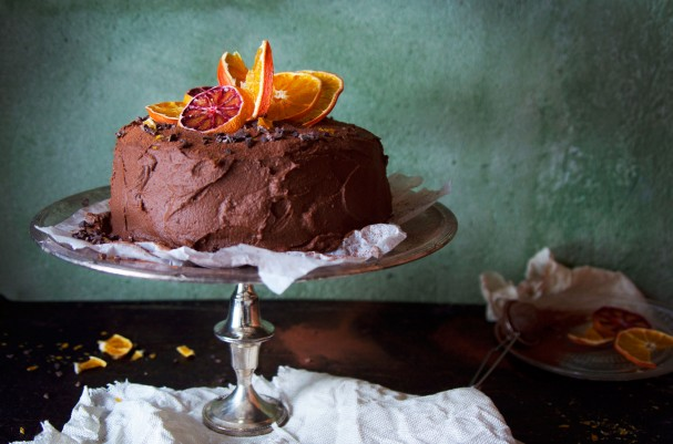 Ridiculous Rich Chocolate Orange Cake w Sweet Potato Ganache www.Earthsprout.com
