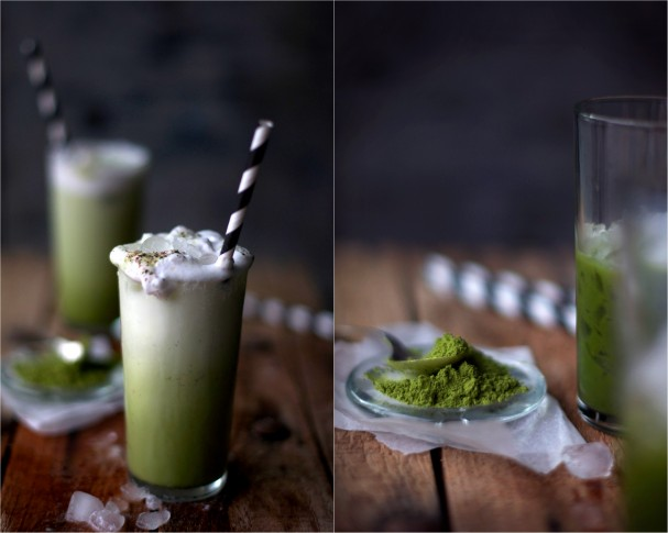 Matcha Frappes and a summer love list on www.Earthsprout.com