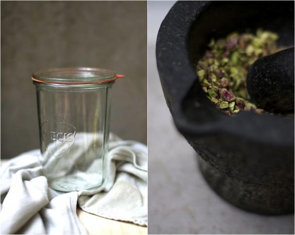 Stone Fruit + Fava Bean Salad In a Jar @ www.Earthsprout.com