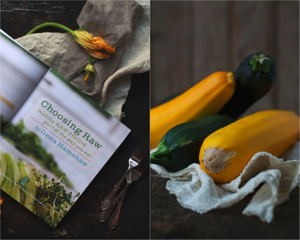 Delicious + Abundant Zucchini Muffins & Choosing Raw the book at www.Earthsprout.com