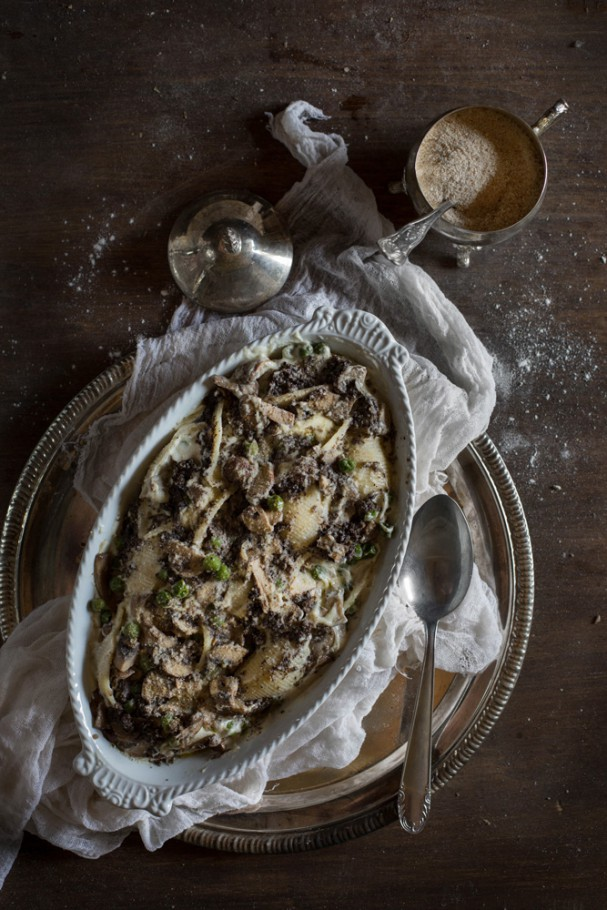 Baked Truffle Pasta with Hortus Cuisine www.earthsprout.com