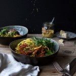 Healthyfied Spaghetti Amatriciana + our 'His & Hers' way of eating