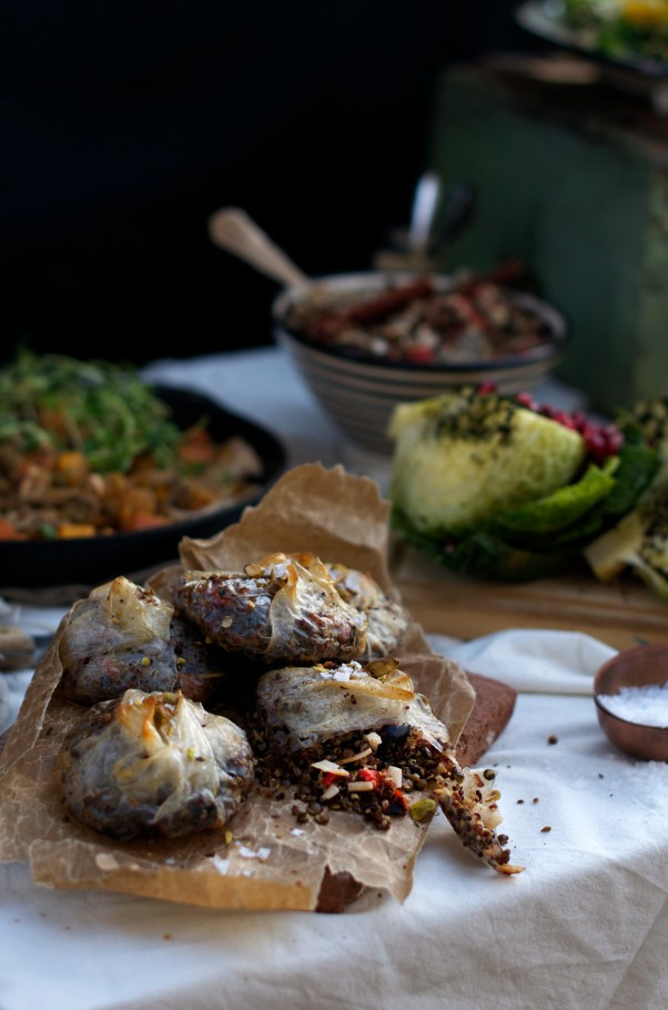 Delicious Vegetarian Health Boosting Holiday Menu at www.Earthsprout.com