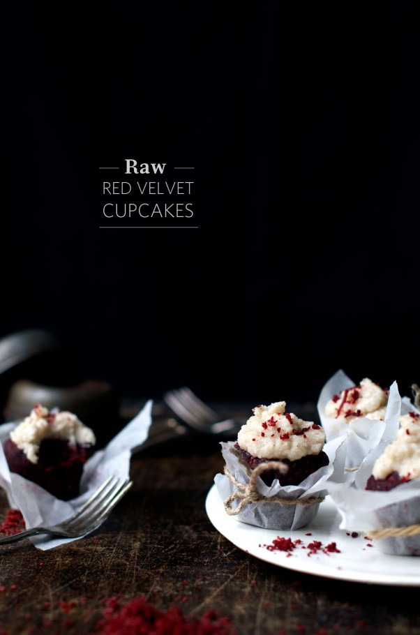 Raw Red Velvet Cupcakes (Nut & Dairy Free Frosting) + Dumping Unnatural Dyes! www.Earthsprout.com