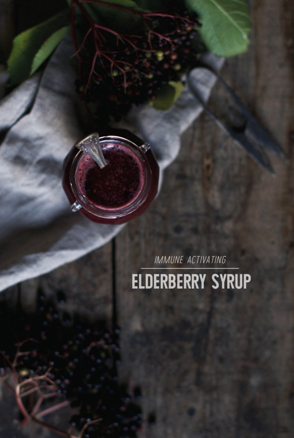 Immune Activating Elderberry Syrup Latte + Shoulds vs Musts in Online Sharing @ www.Earthsprout.com
