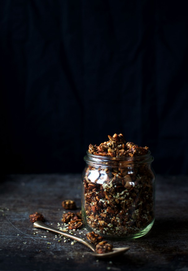Granola Gravel (Vegan, Grain-Free, Sugar-Free) + Becoming a Family of 4