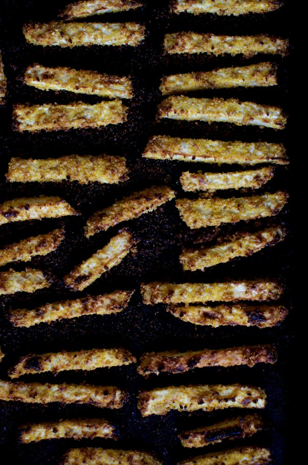 Celeriac Fries w Creamy Miso Dip + Our Dinner Hacks
