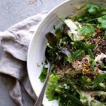 Shawarma Spice & Herb Salad w Tangy Fennel Kicks