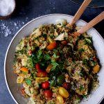 Semiwarm Herbed Quinoa Bowls + Download of NOW