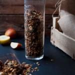 Apple Pie Granola + DIY Healthy Apple Sauce & It takes a village..