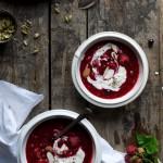 Juicy Berry Bowl w Cream + Copenhagen Tips