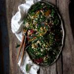 Buckwheat Salad w Sweet Turmeric Dressing + Fried Sage || Iceland ||