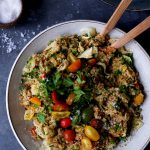 Semiwarm Herbed Quinoa Bowls + Download of NOW